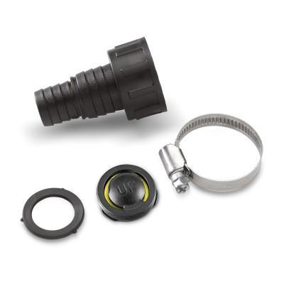 Соединительный элемент для насосов, с обратным клапаном, малый